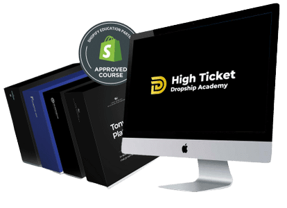 High Ticket Dropship Academy e-learning training